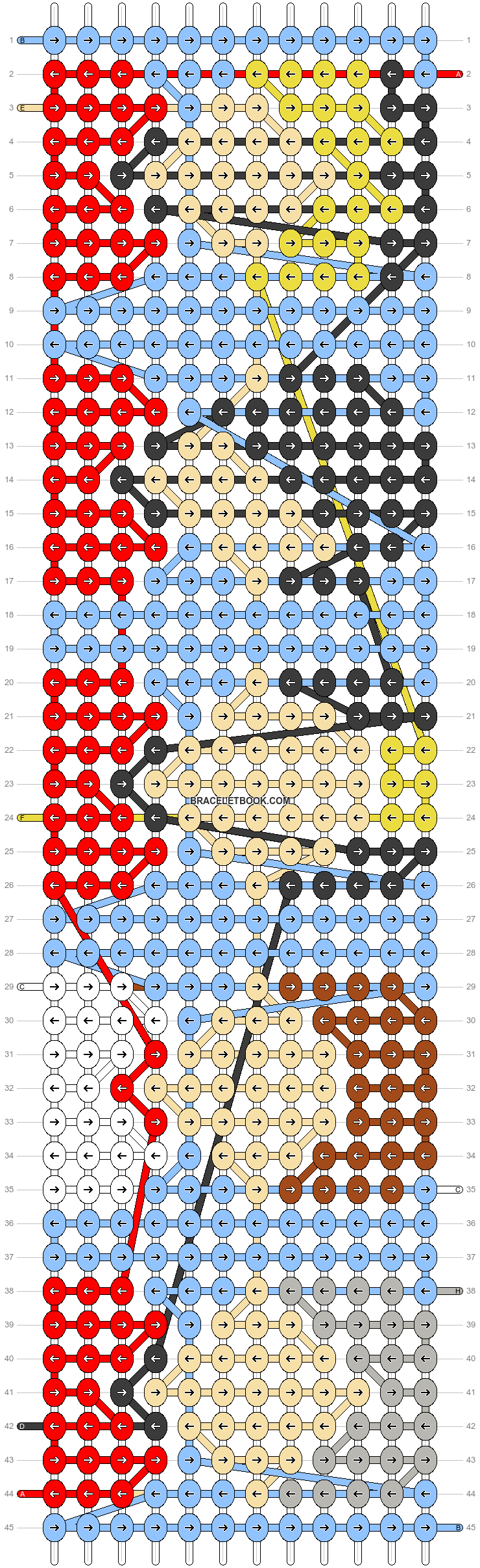 Alpha pattern #43789 pattern