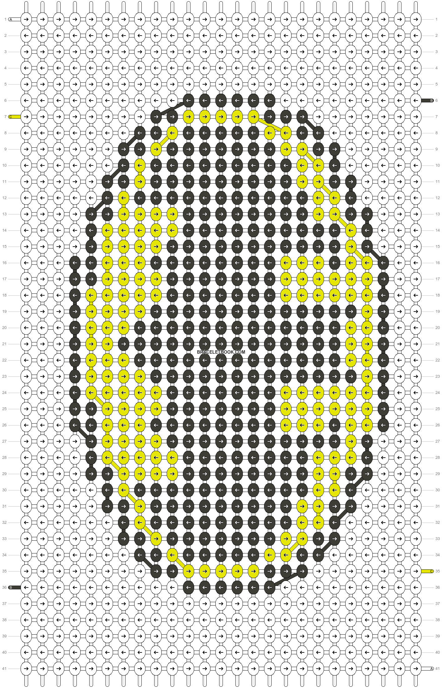 Alpha pattern #43803 pattern