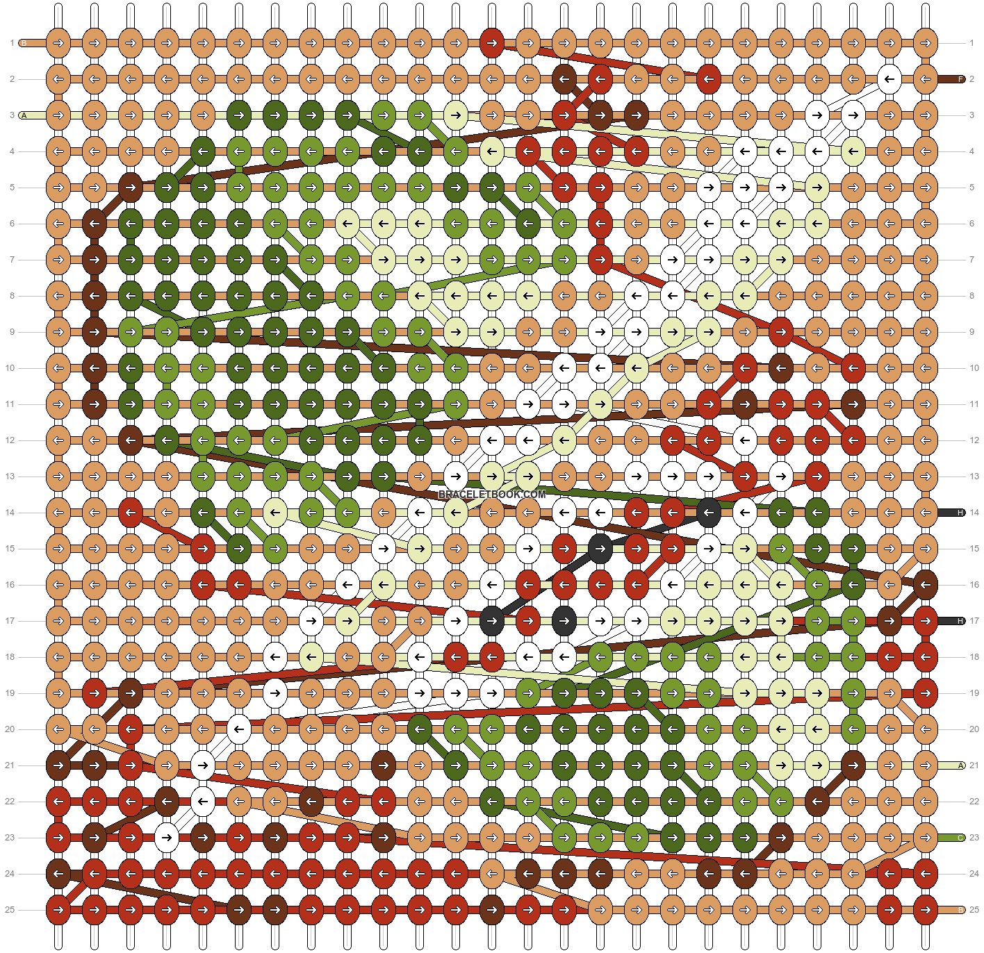 Alpha pattern #43810 pattern