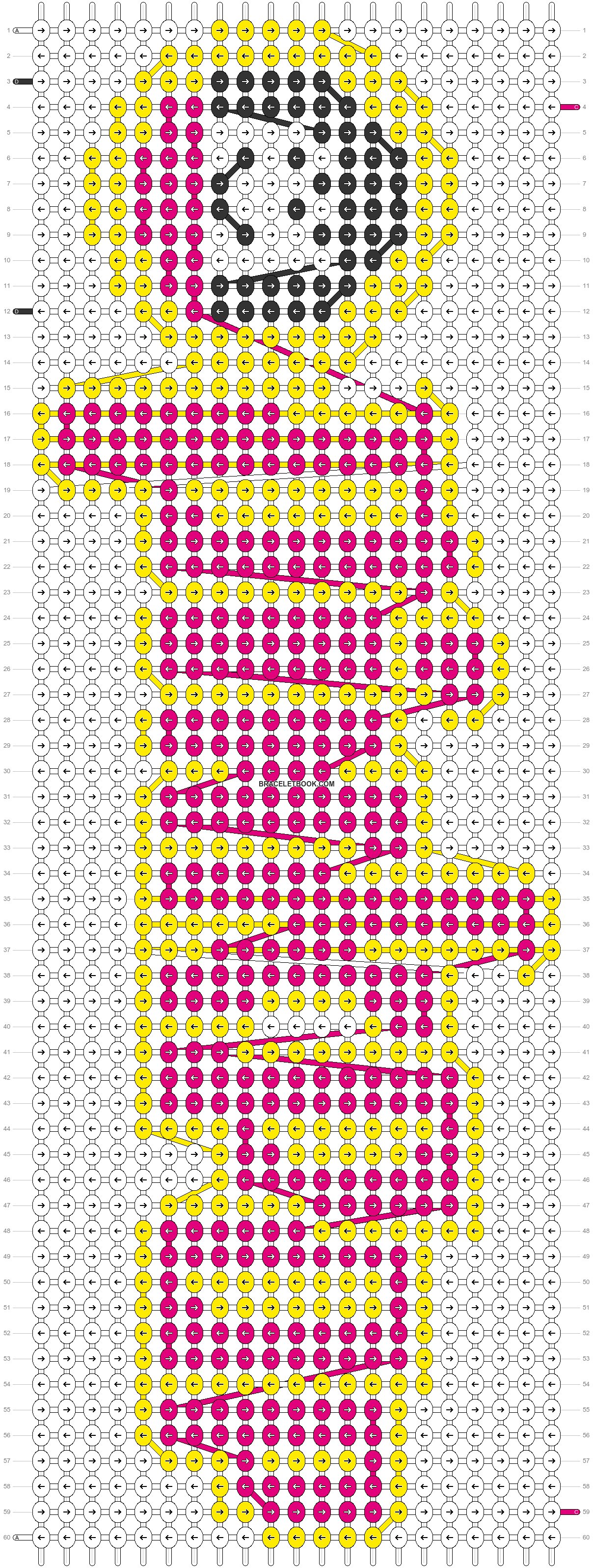 Alpha pattern #43811 pattern