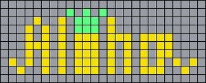Alpha pattern #43840