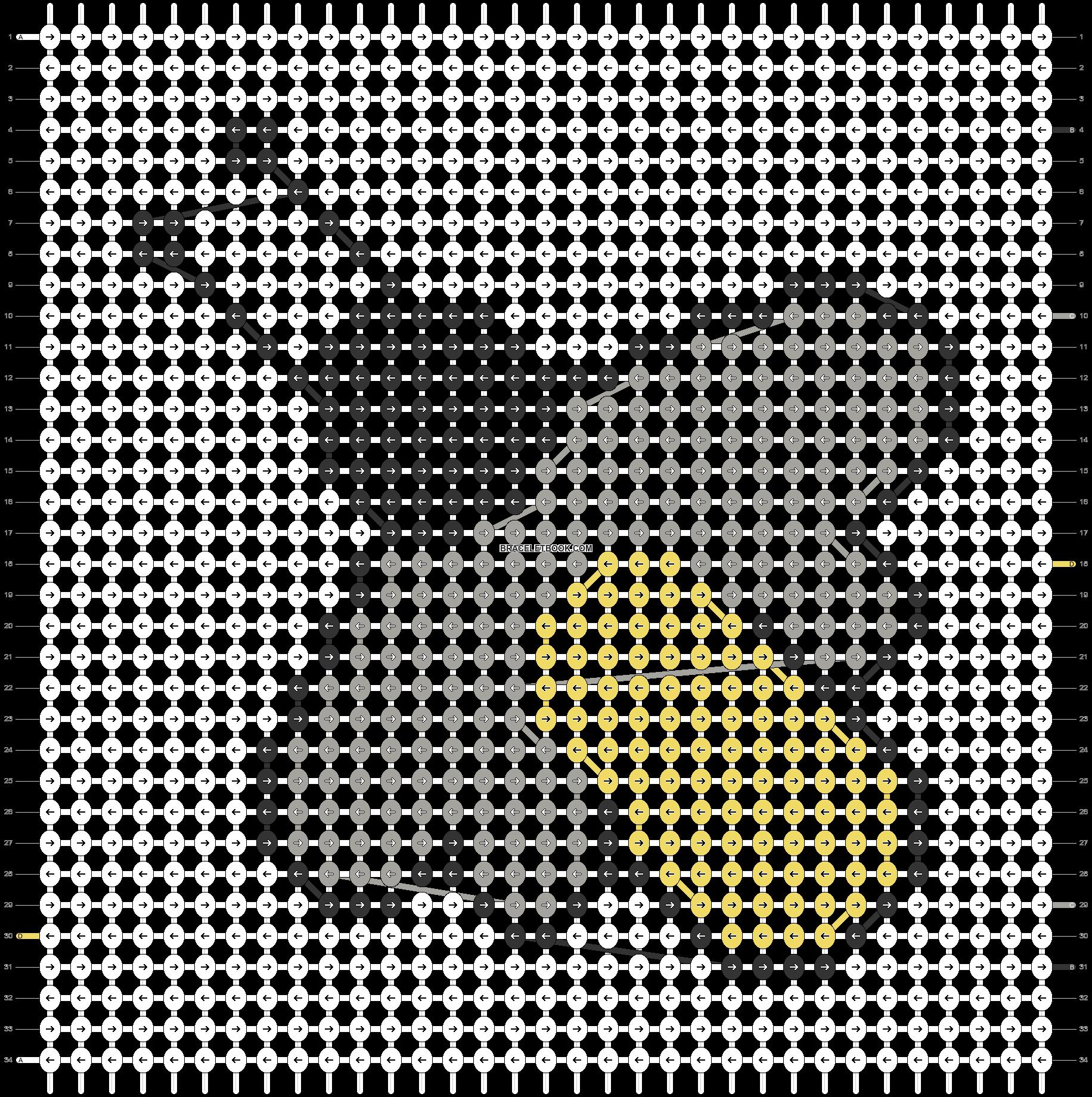 Alpha pattern #43853 pattern