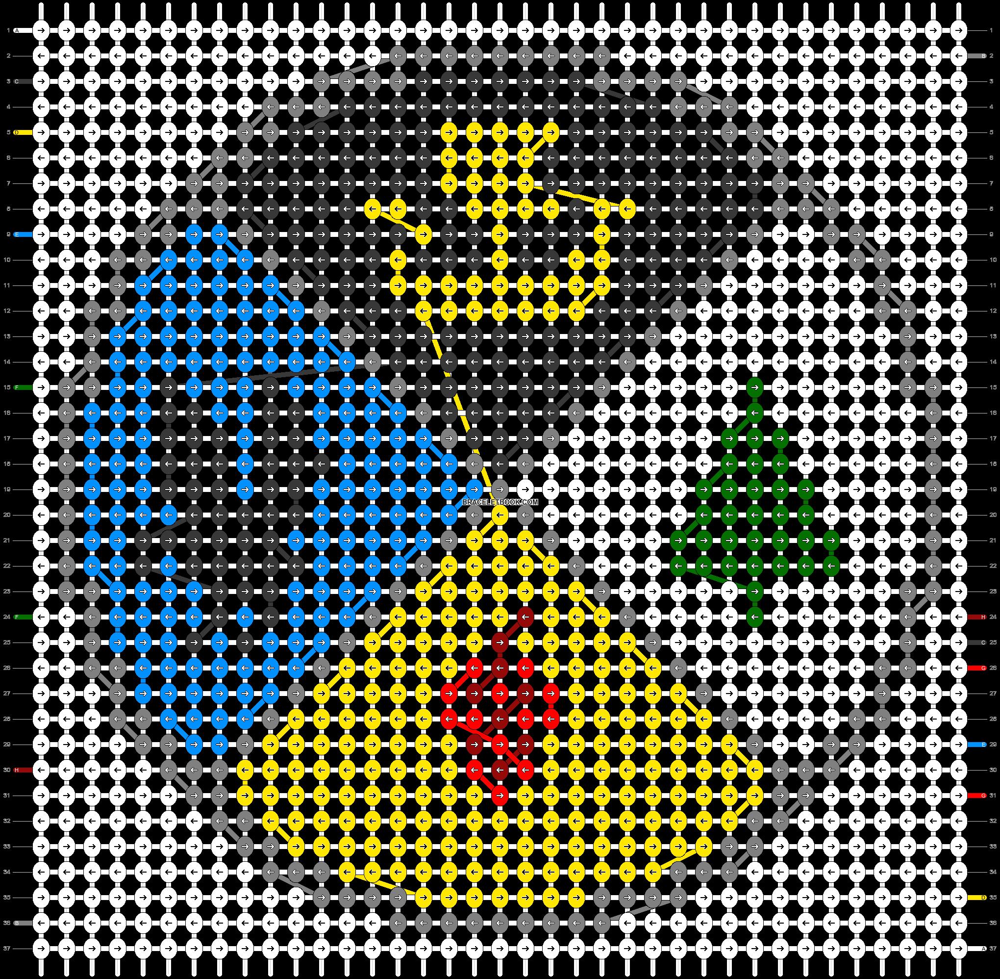 Alpha pattern #43865 pattern