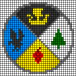 Alpha pattern #43865
