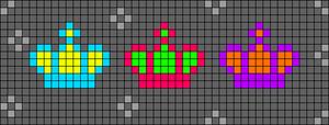 Alpha pattern #43869