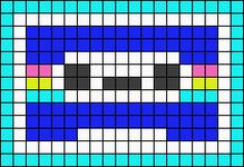 Alpha pattern #43906