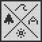 Alpha pattern #43916