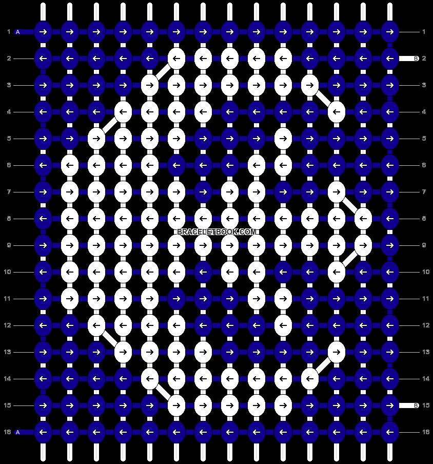 Alpha pattern #43922 pattern