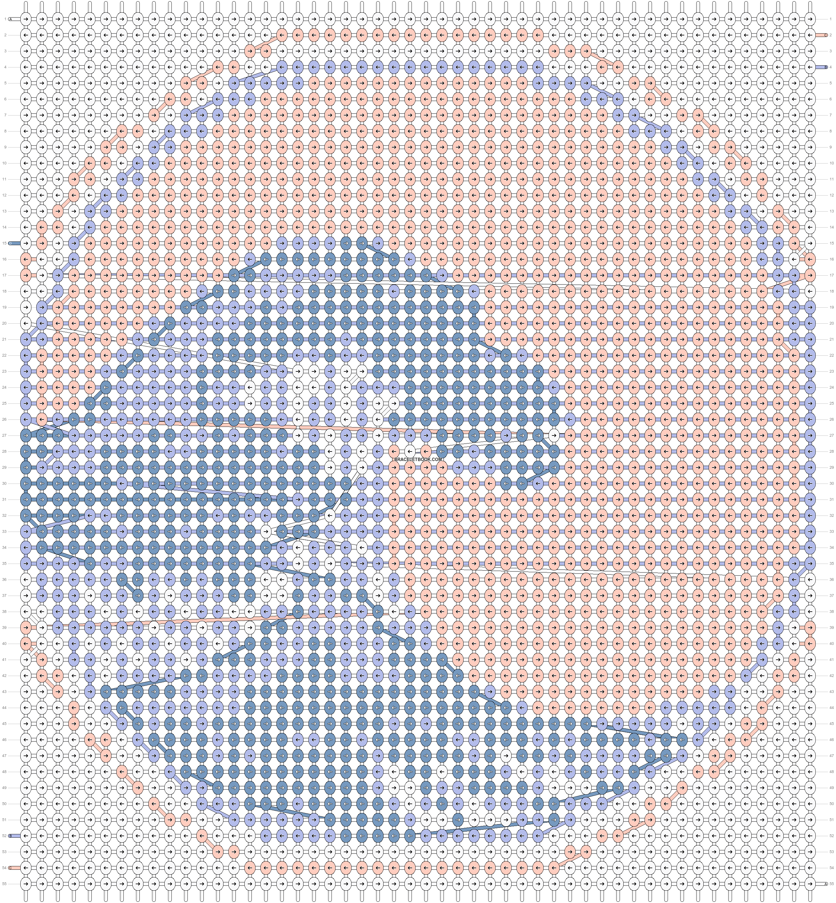 Alpha pattern #43923 pattern
