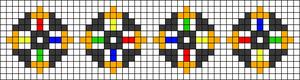 Alpha pattern #43938