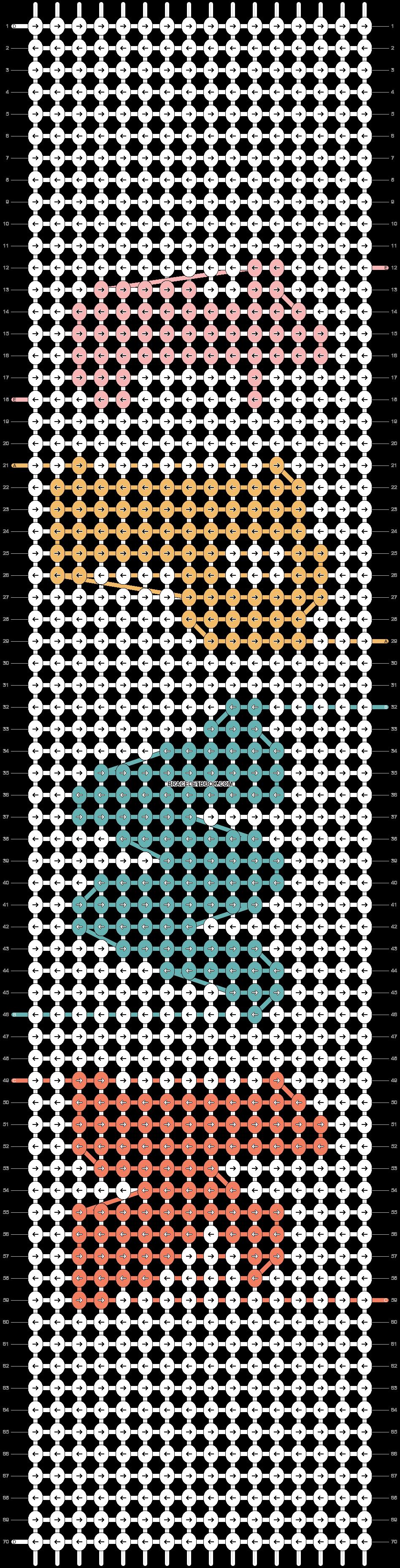 Alpha pattern #43965 pattern