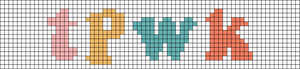 Alpha pattern #43965