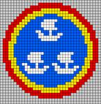 Alpha pattern #43979