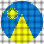 Alpha pattern #43980