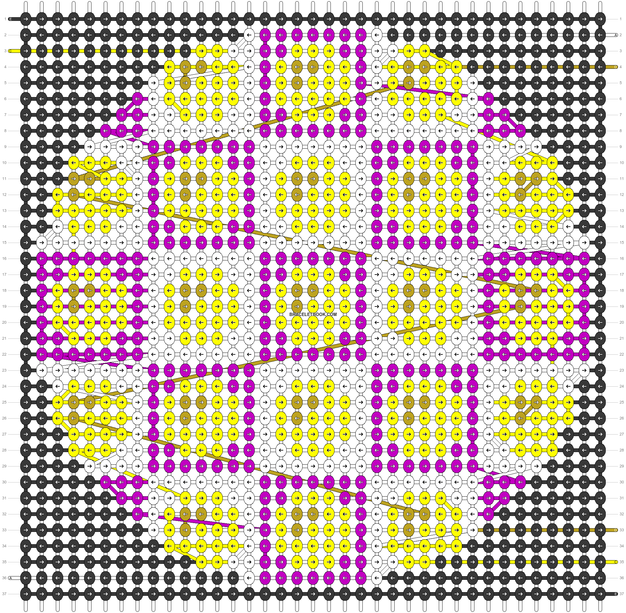 Alpha pattern #43984 pattern
