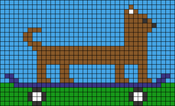 Alpha pattern #43986