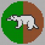 Alpha pattern #43987