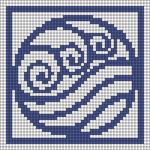 Alpha pattern #43997