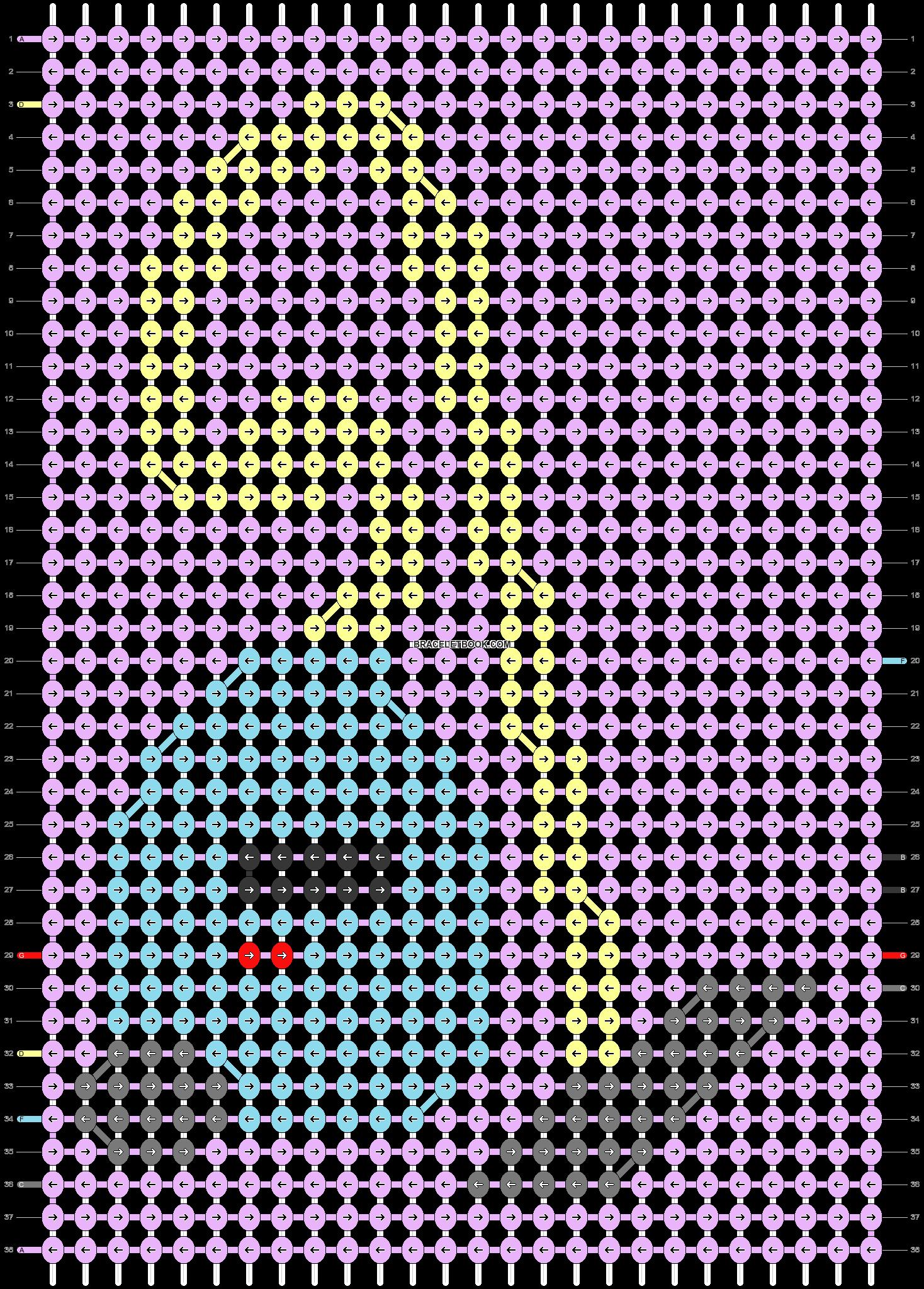 Alpha pattern #43999 pattern