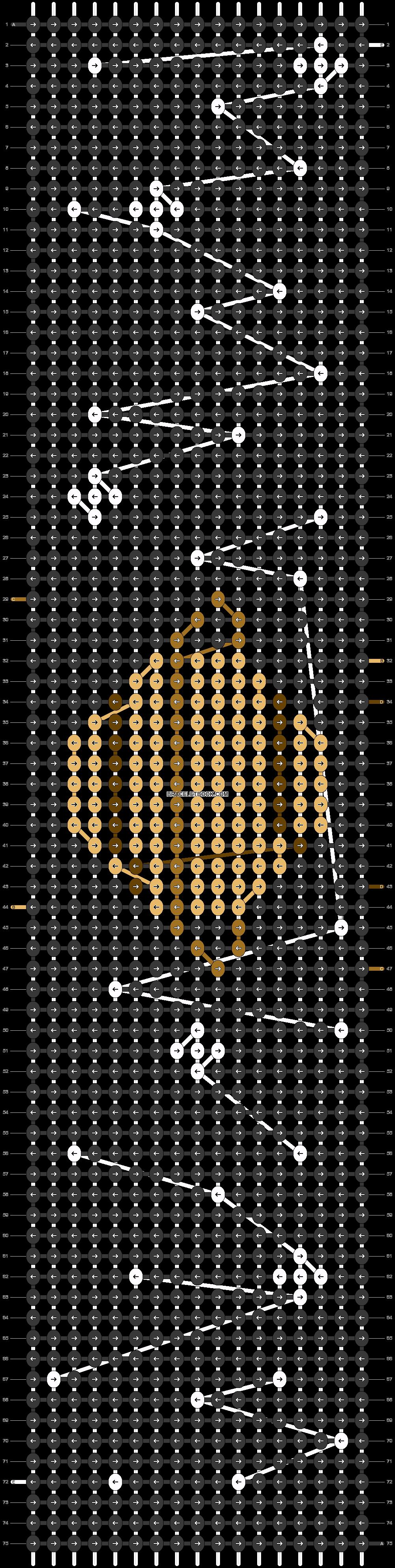 Alpha pattern #44023 pattern