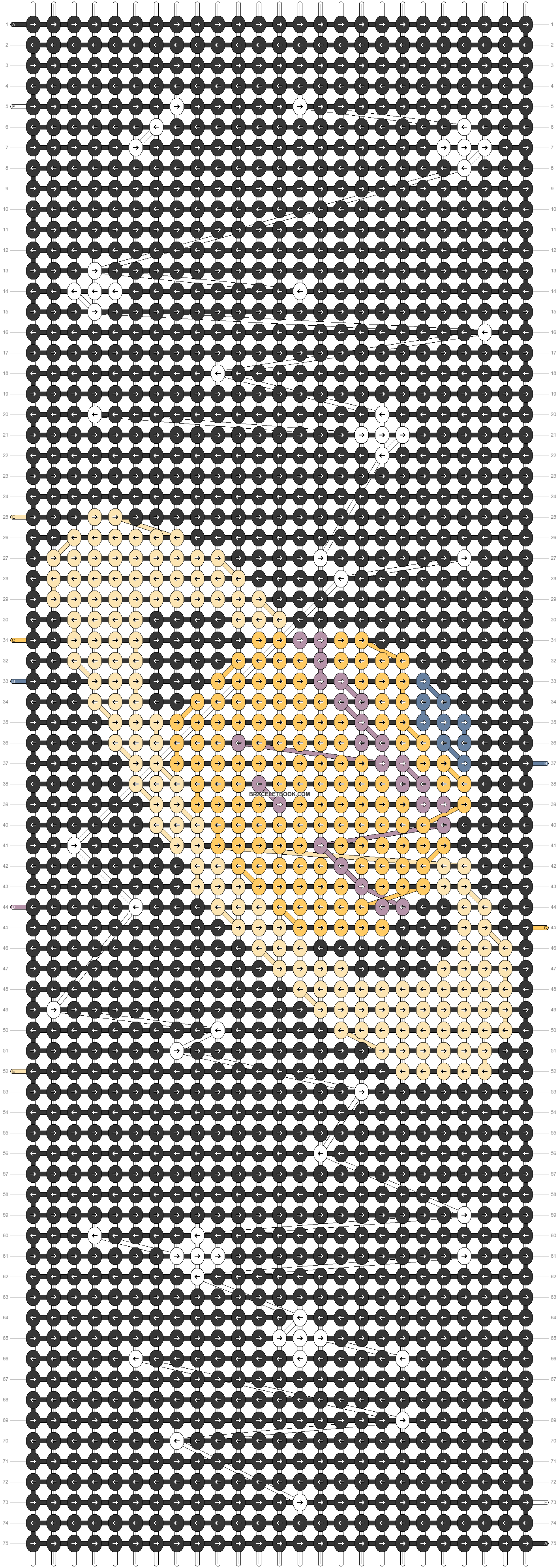 Alpha pattern #44026 pattern