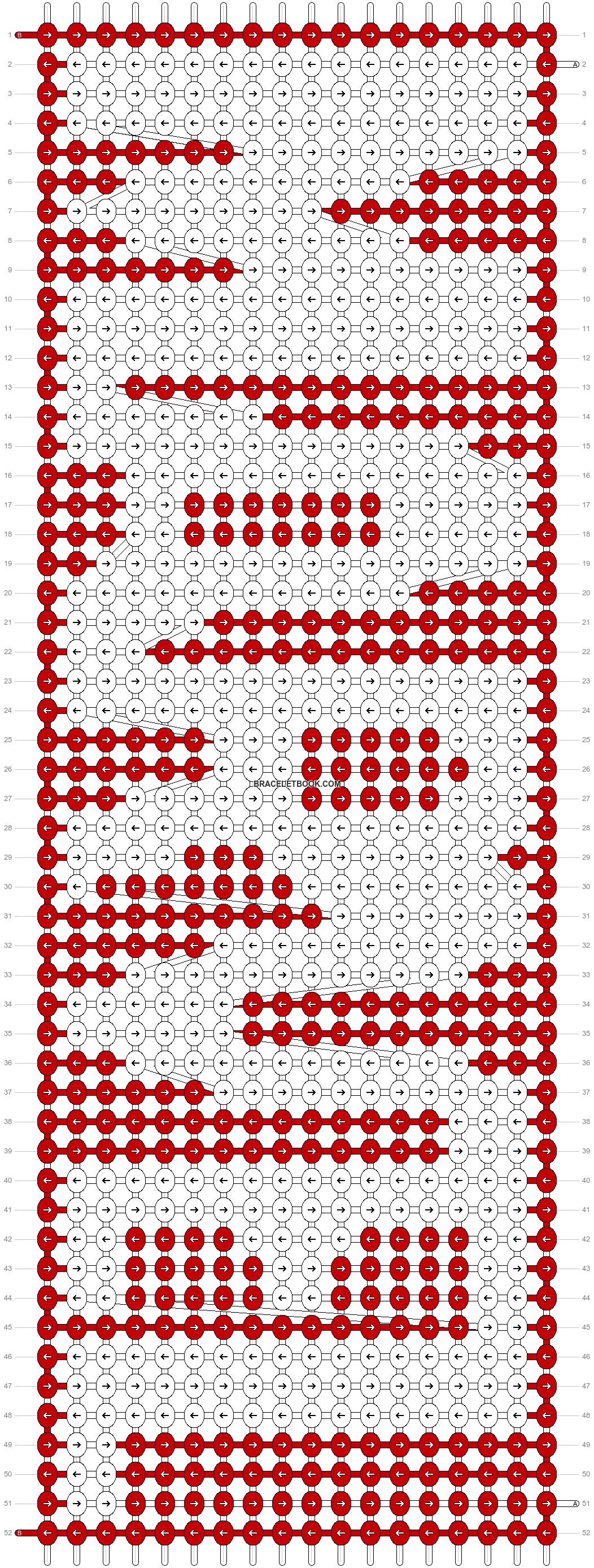 Alpha pattern #44036 pattern