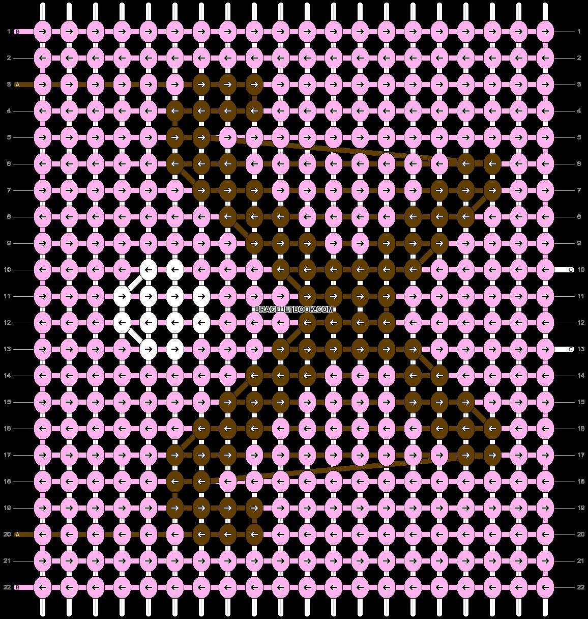 Alpha pattern #44045 pattern