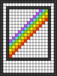 Alpha pattern #44052