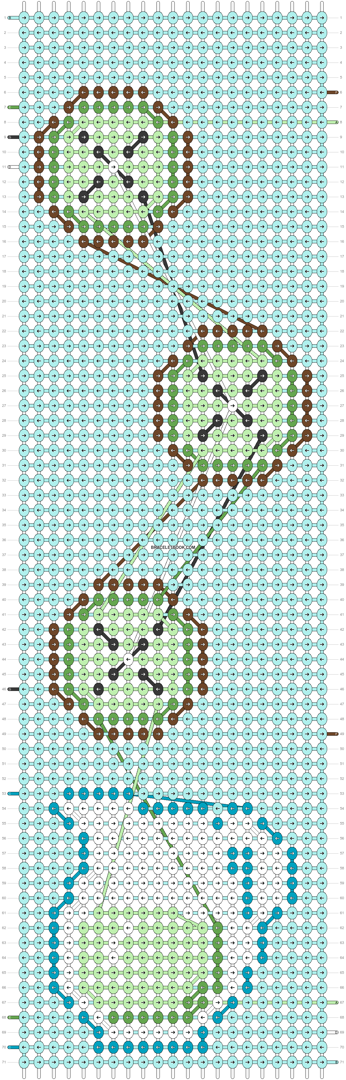 Alpha pattern #44111 pattern