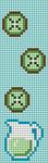 Alpha pattern #44111