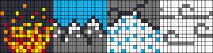 Alpha pattern #44164