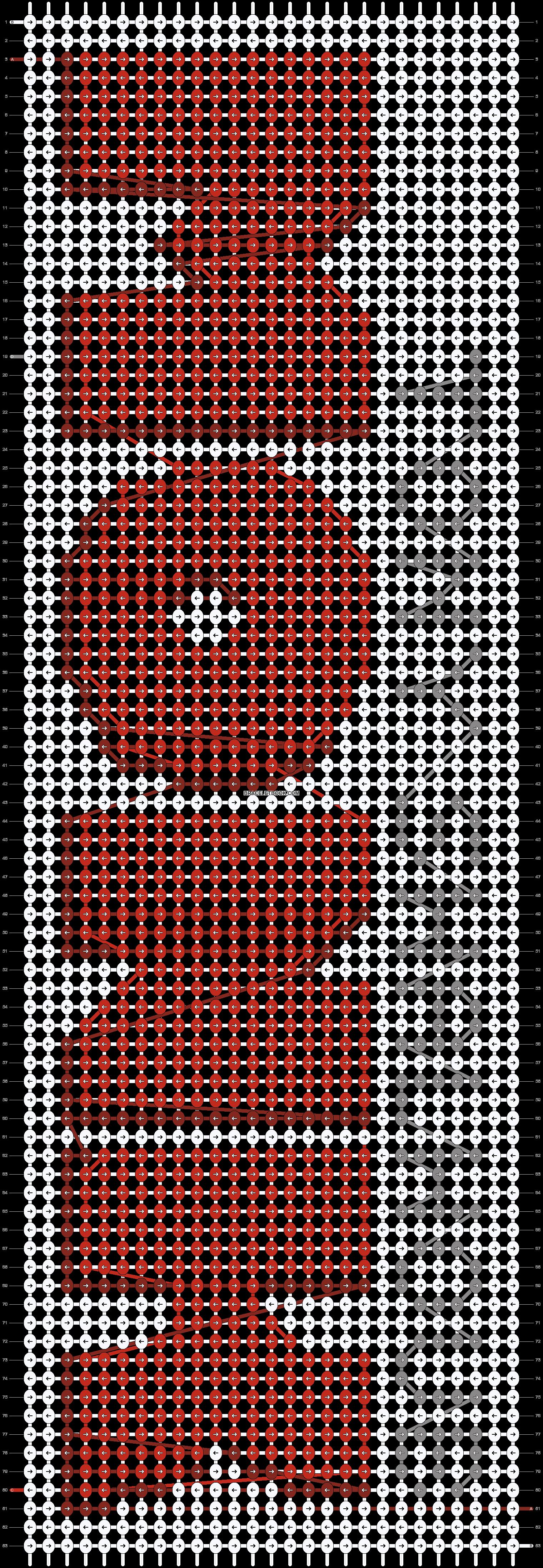 Alpha pattern #44204 pattern
