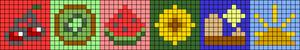 Alpha pattern #44206