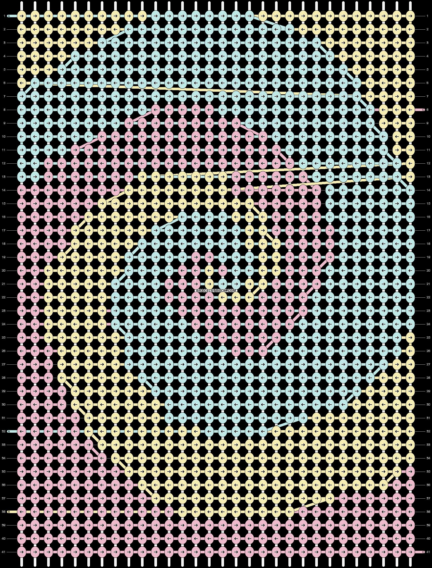 Alpha pattern #44210 pattern