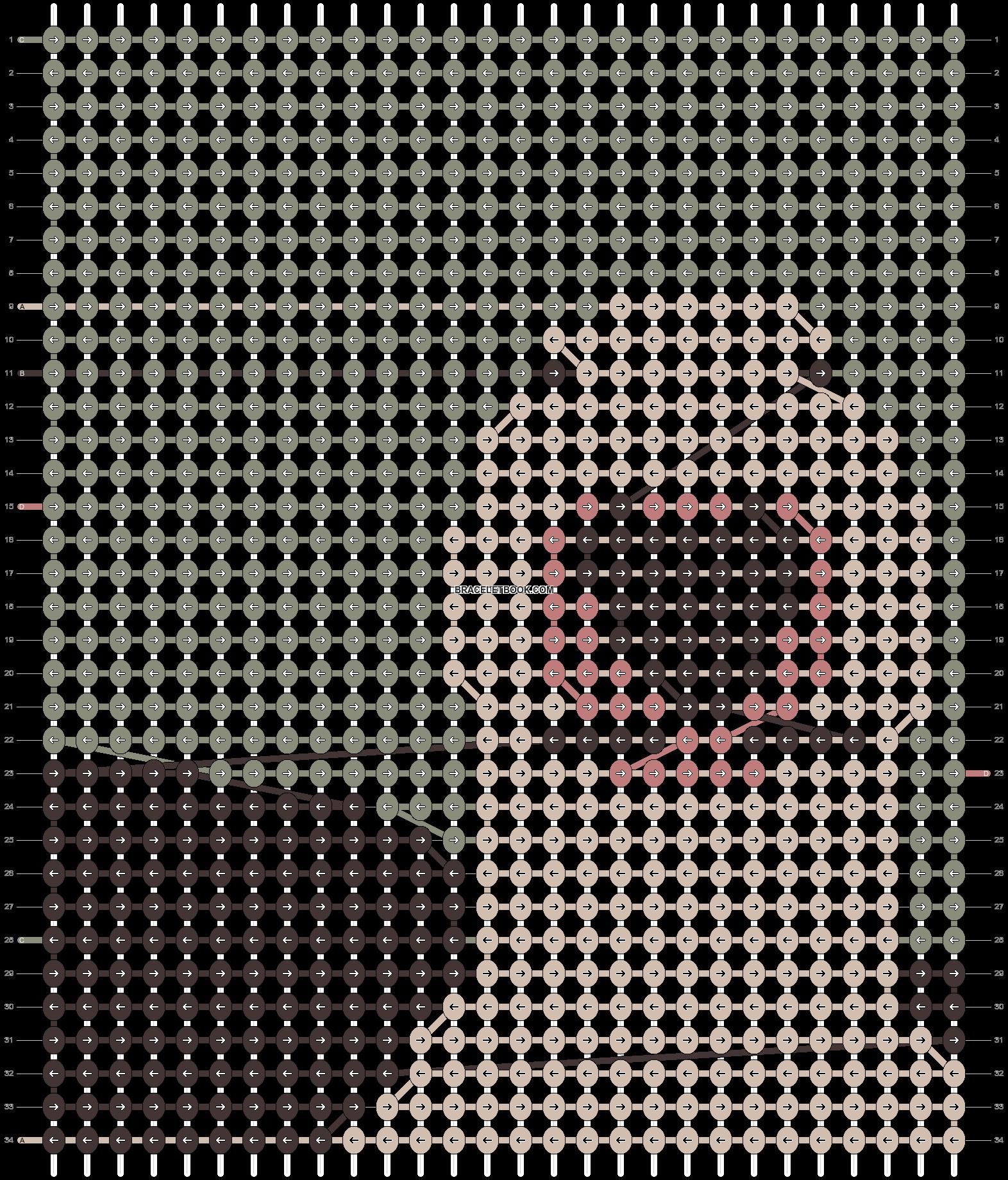 Alpha pattern #44276 pattern