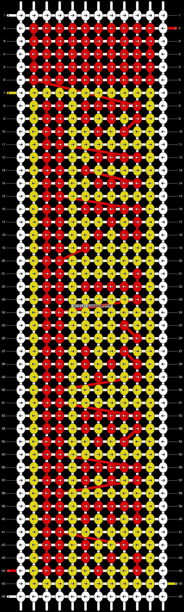 Alpha pattern #44350 pattern