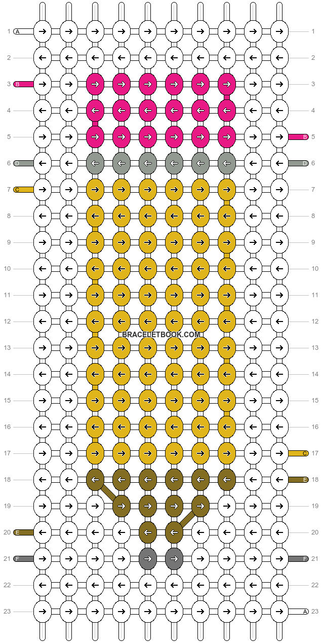 Alpha pattern #44356 pattern