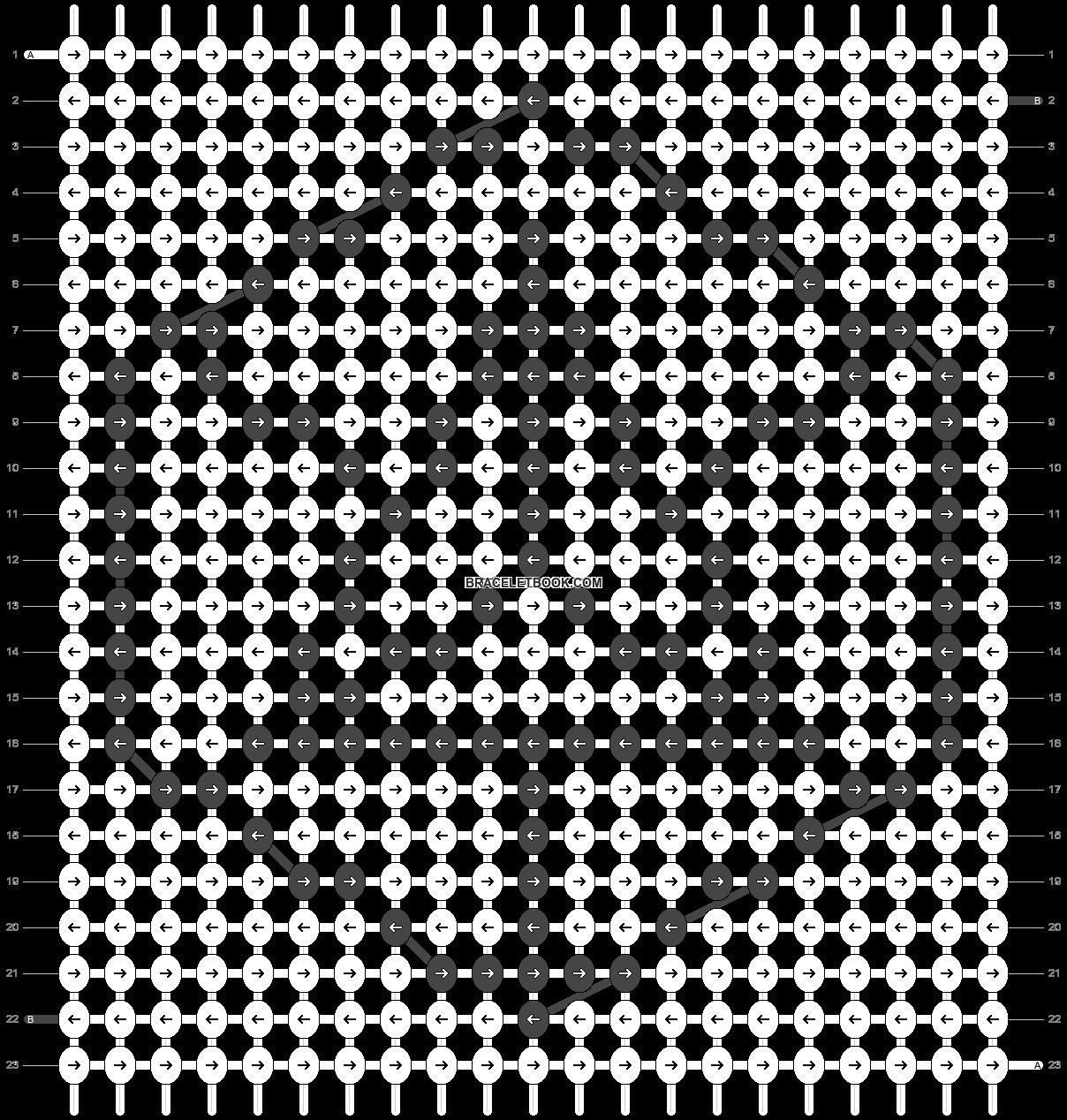 Alpha pattern #44358 pattern