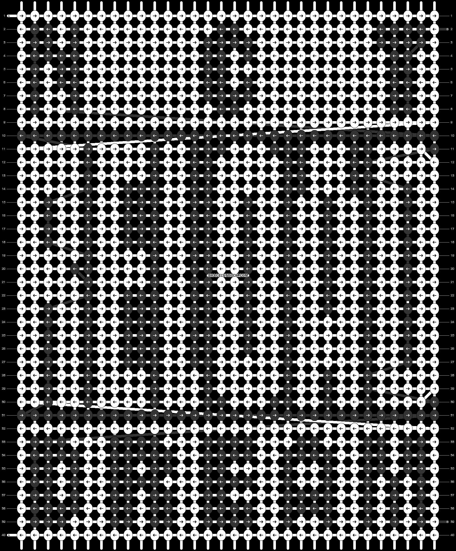 Alpha pattern #44362 pattern