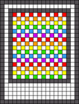 Alpha pattern #44382