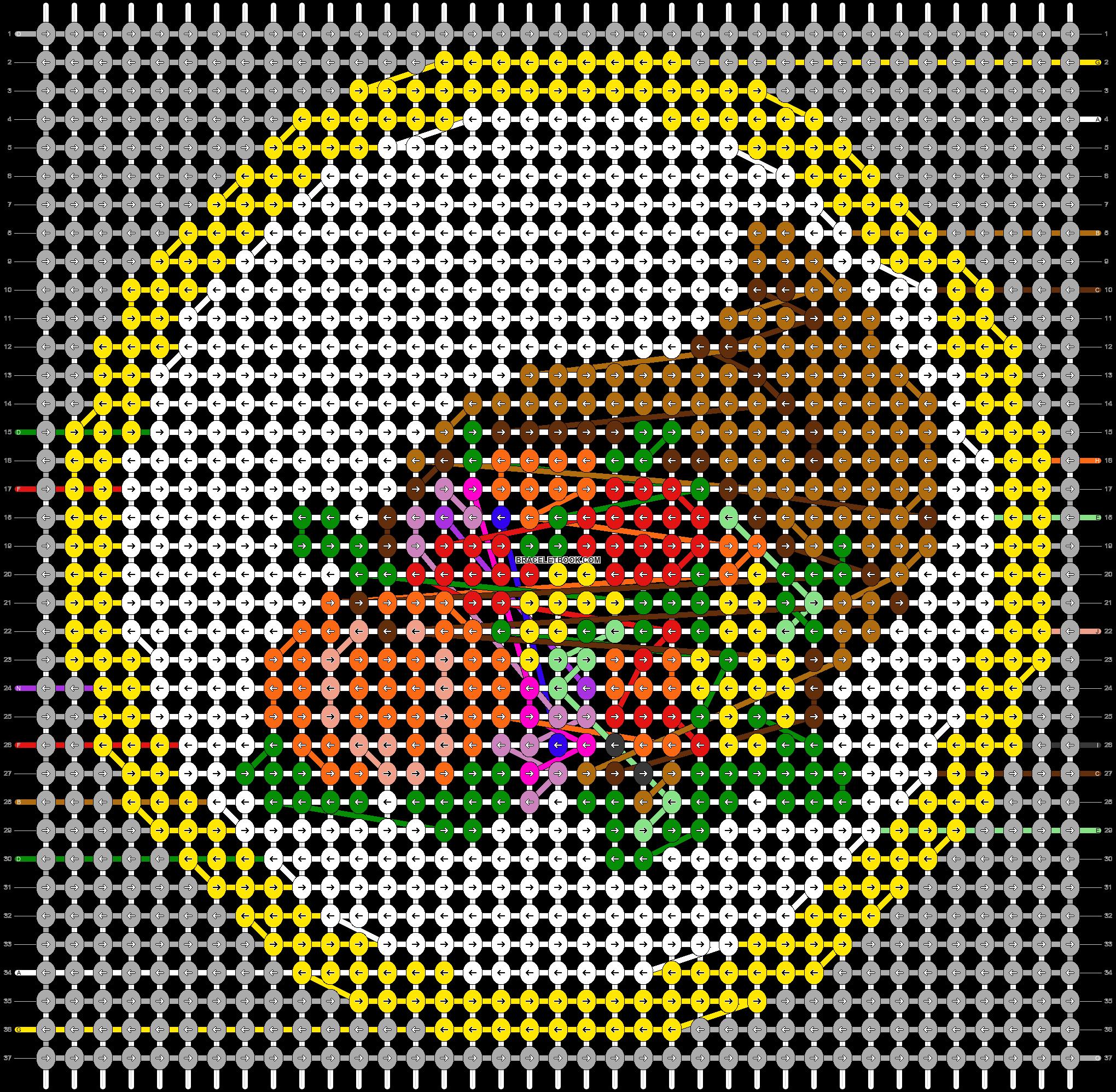 Alpha pattern #44393 pattern