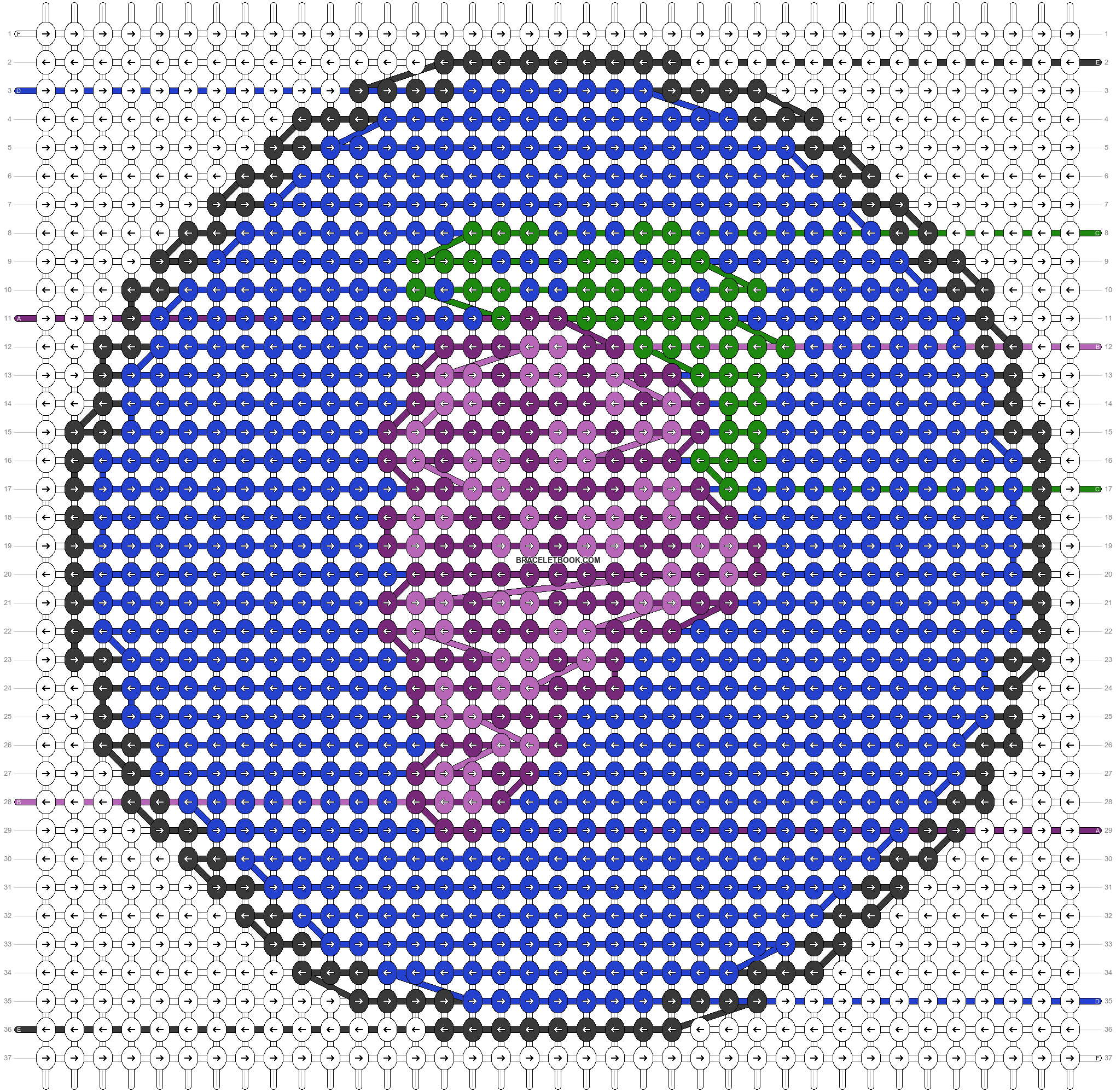 Alpha pattern #44396 pattern