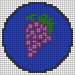 Alpha pattern #44396