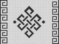 Alpha pattern #44406