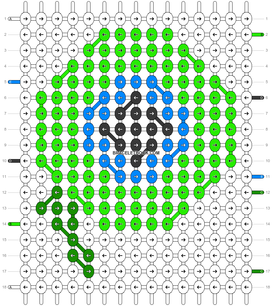 Alpha pattern #44416 pattern