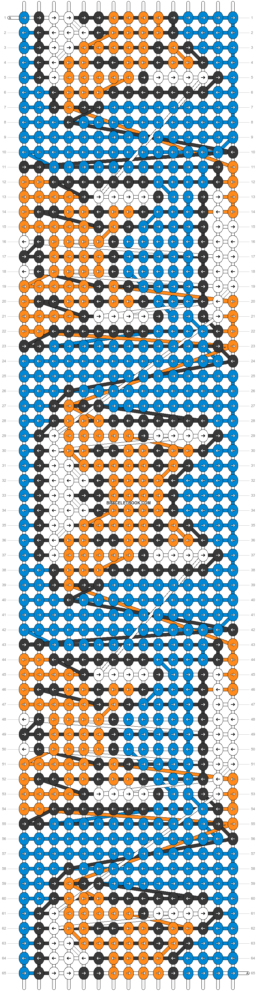 Alpha pattern #44419 pattern