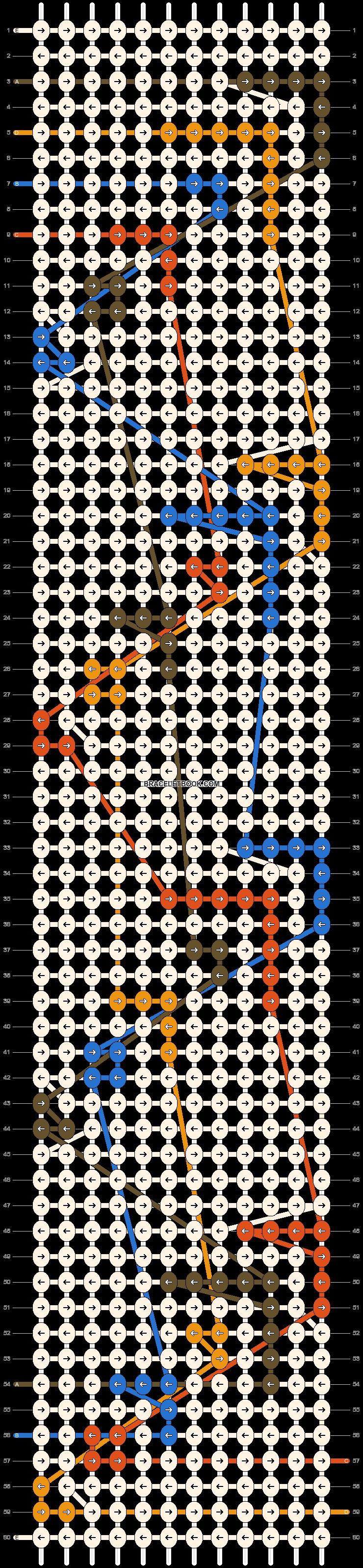 Alpha pattern #44429 pattern
