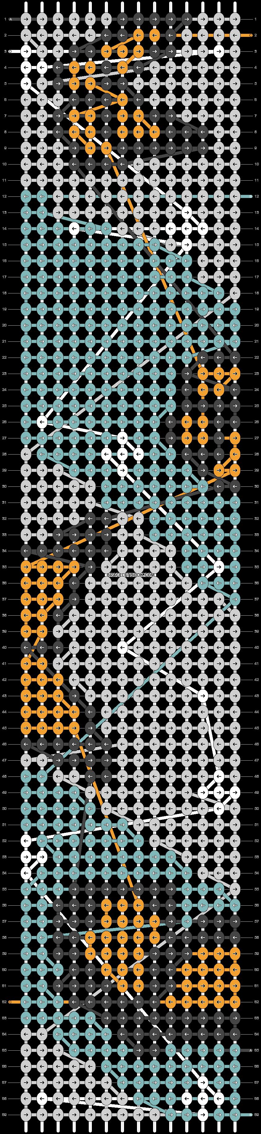Alpha pattern #44432 pattern
