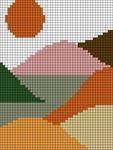 Alpha pattern #44441