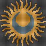 Alpha pattern #44442